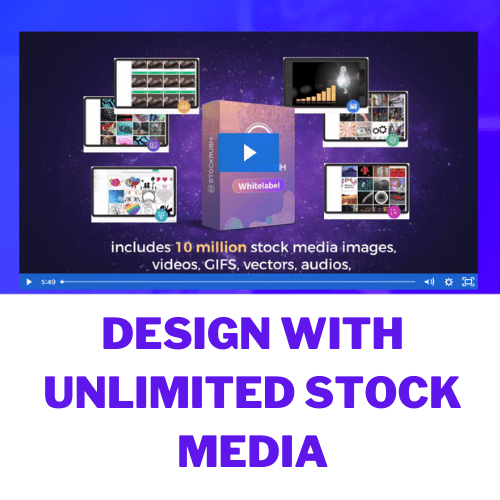 design with unlimited stock media