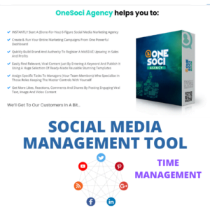 Social Media Management tool- Cloud Based Software, Design and Schedule Posts