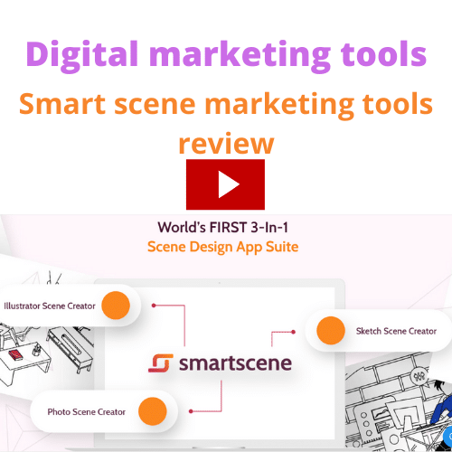 Best digital marketing tools and how to make money online in Hindi || Smartscene tools review ||
