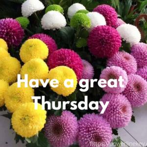 Thursday greetings