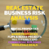 real estate business risk analysis