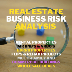 Deal check: Real estate business risk analysis software and Property leasing software