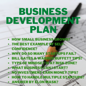 organic growth business development plan