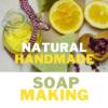 natural handmade soap making process